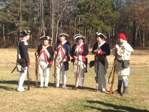 234th anniversay Battle of Cowpens  Continentals