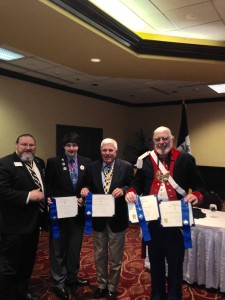SAR Americanism chapter award winners Blue Streamer